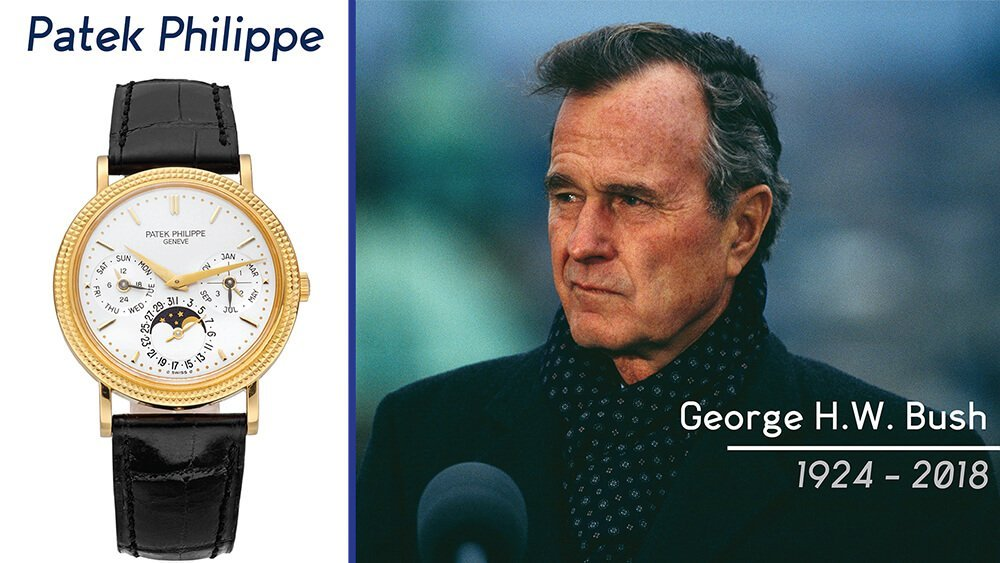 RANT&H: Remembering George H.W. Bush + His Patek Philippe Watch