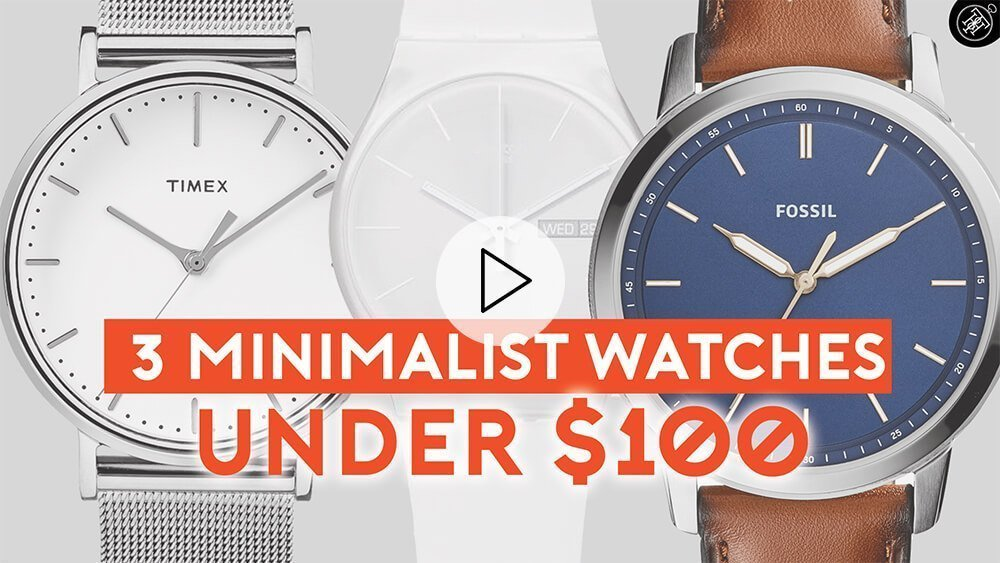 3 Minimalist Watches Under $100