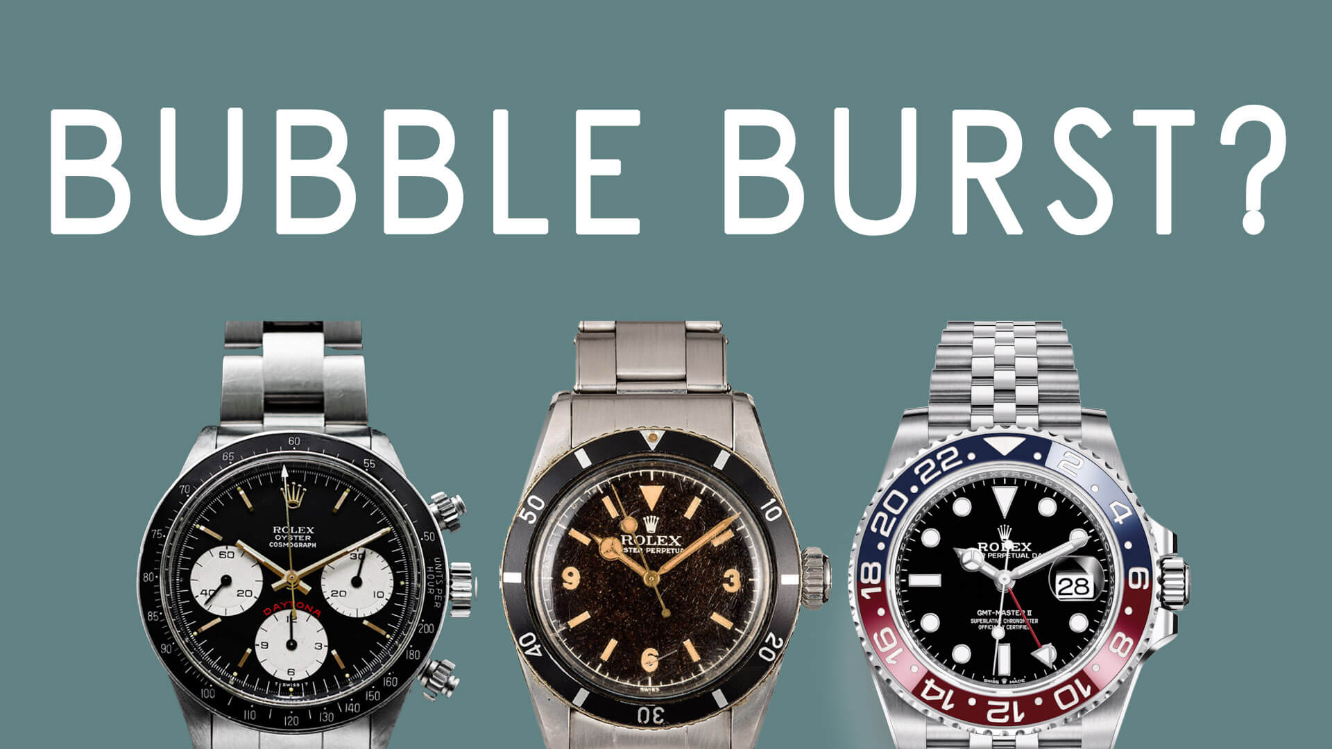 ASKTNH LIVE: When Will The Rolex Bubble Burst?