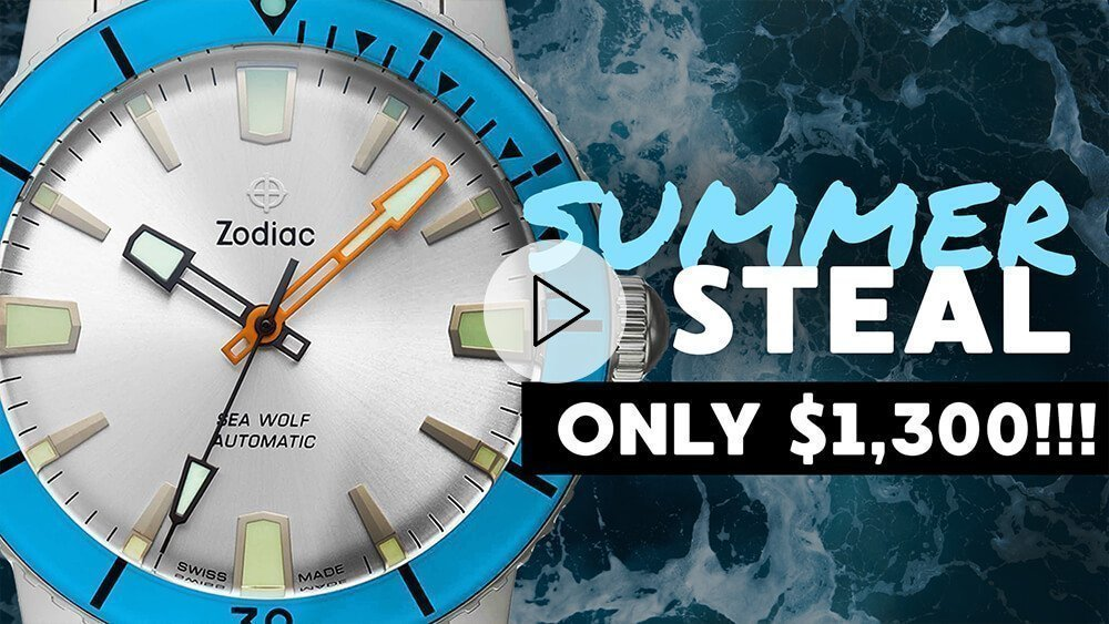 Ultimate Dive Watch For Summer: Zodiac Seawolf Review