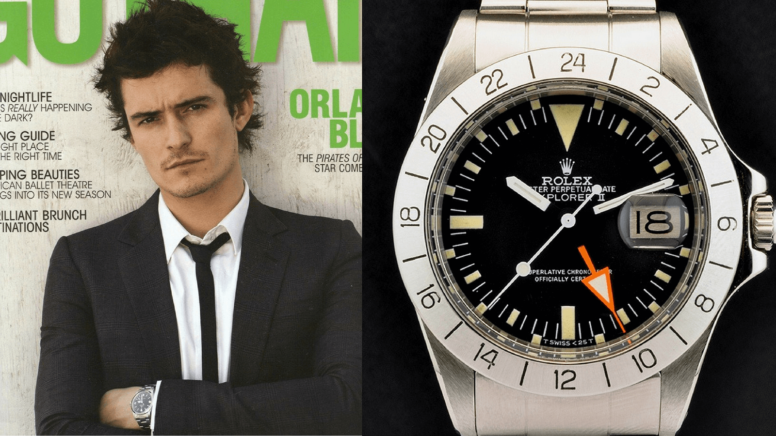 Collection Review: Orlando Bloom's (Stolen?) Watch Collection