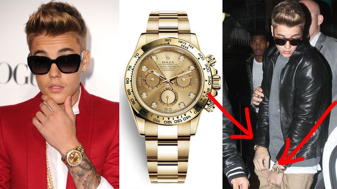 Collection Review: Justin Bieber's Watch Collection!