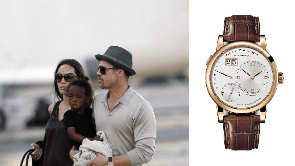 Collection Review: Brad Pitt's Watch Collection of Cartier, Rolex & Patek