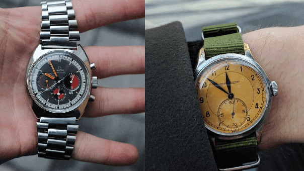 Collection Review: A Quirky Collection of Vintage JLC, Bulova, Omega, & Vacheron