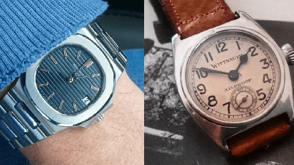 Collection Review: A Collection of Vintage Wittnauer, Max Bill Junghans, & A Patek Nautilus