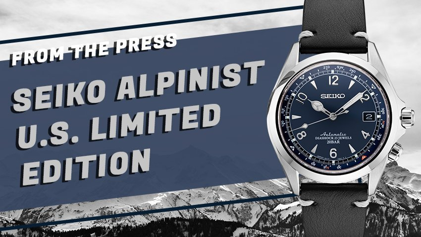 Alpinist Ascending: Seiko Revives the Fan Favorite with a new Dial for 2019