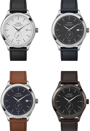eb1f18ecb6 All Four Variations of the Timex American Documents Series Source: Timex