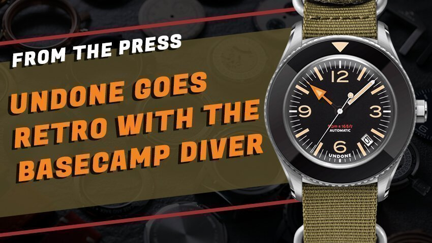 Undone Goes Retro With Their Basecamp Diver