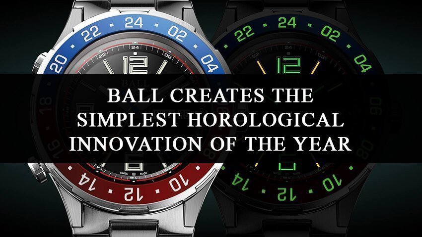 Ball Creates the Simplest Horological Innovation of the Year: The Roadmaster Marine GMT