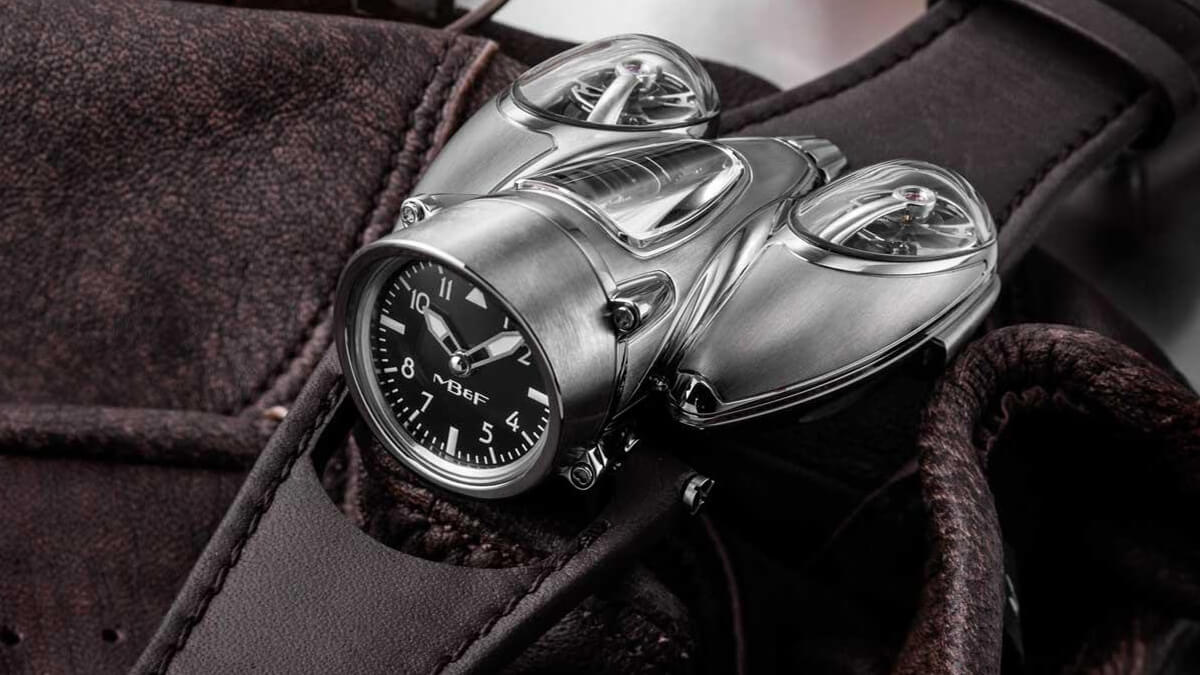 "From The Press: MB&F Ups the Funk (Again) With the HM9 ""Flow"""
