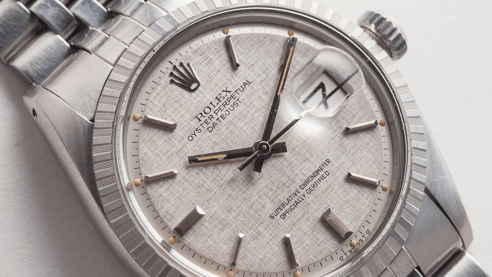 In The Metal: Linen Dials By Rolex and Omega & More