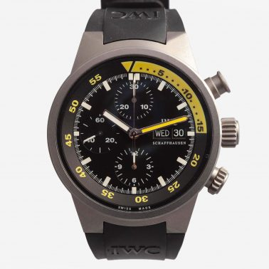 IWC Aquatimer Chronograph vintage watches