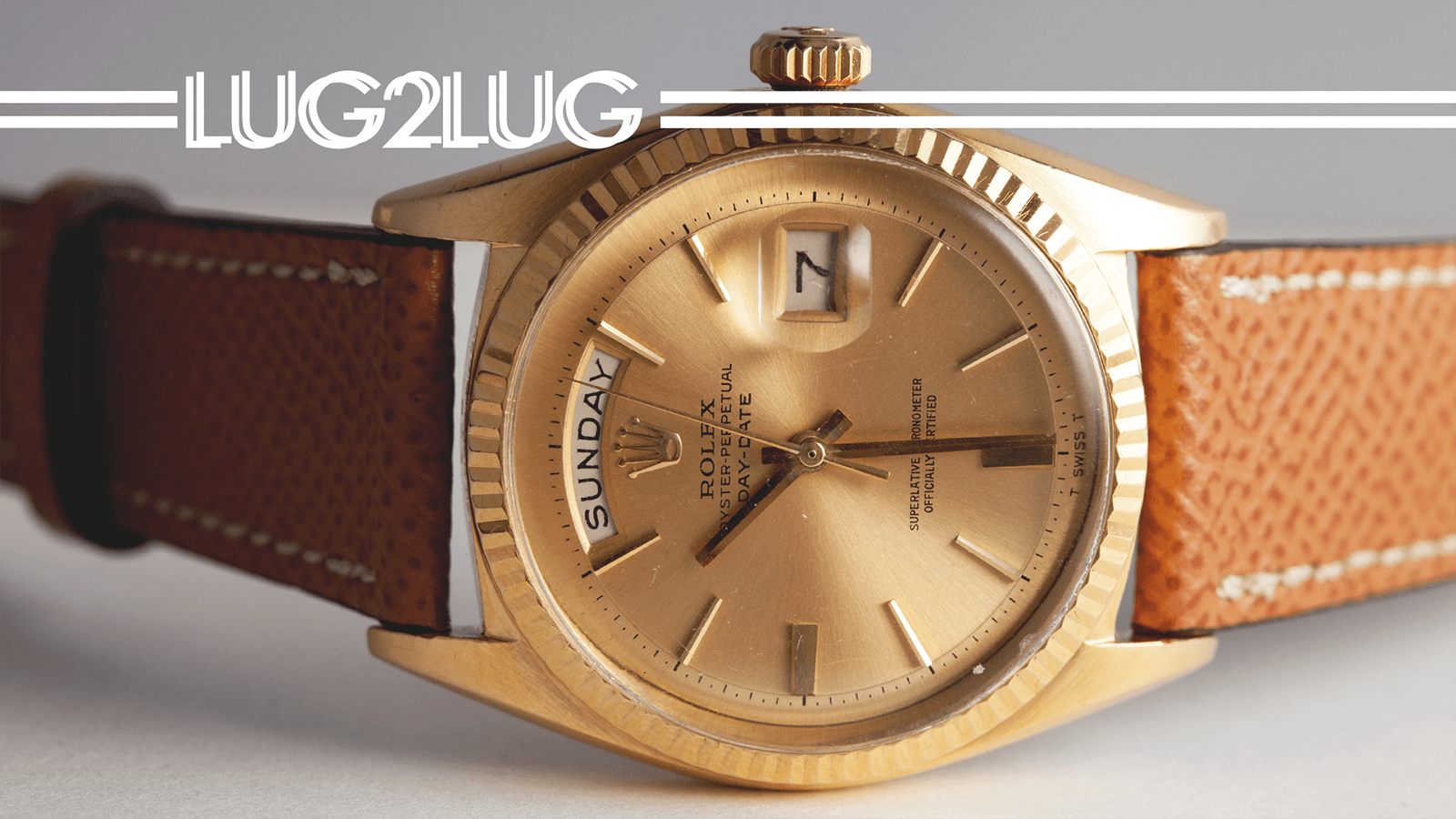 Lug2Lug: ALL-GOLD Rolex and Tudor
