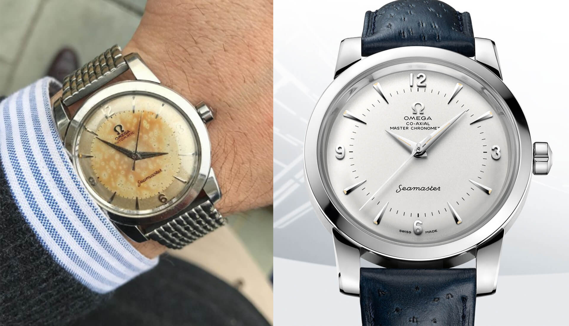 RANT&H: Omega Just Re-Issued Christian's Personal VINTAGE Seamaster