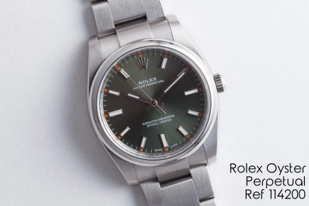 Rolex Oyster Perpetual Ref 114200 02-13-18 1