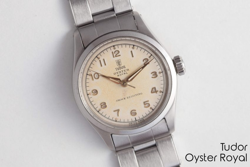 Tudor oyster royal vintage watches for Tudor geneve watches