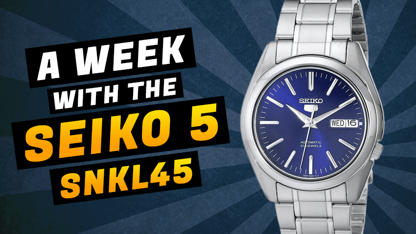 A Week With The Seiko 5 SNKL43