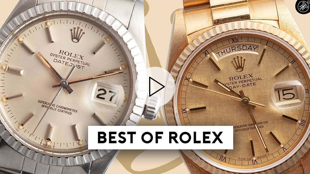 Rolex Datejust & Rolex Day Date | The Amazing Story