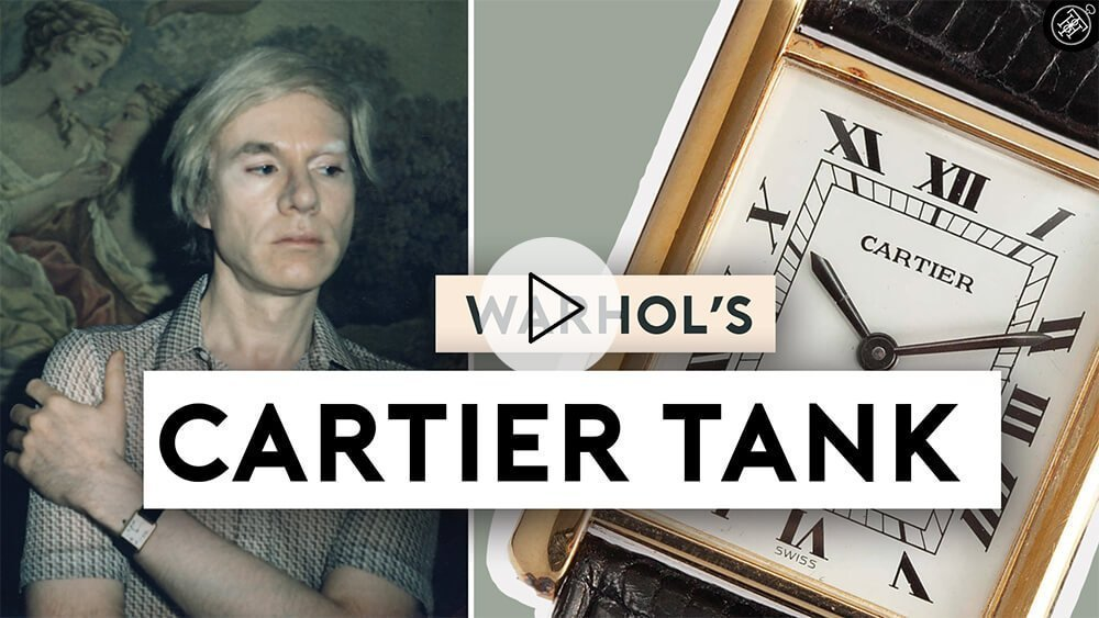 How Andy Warhol Made The Cartier Tank Famous
