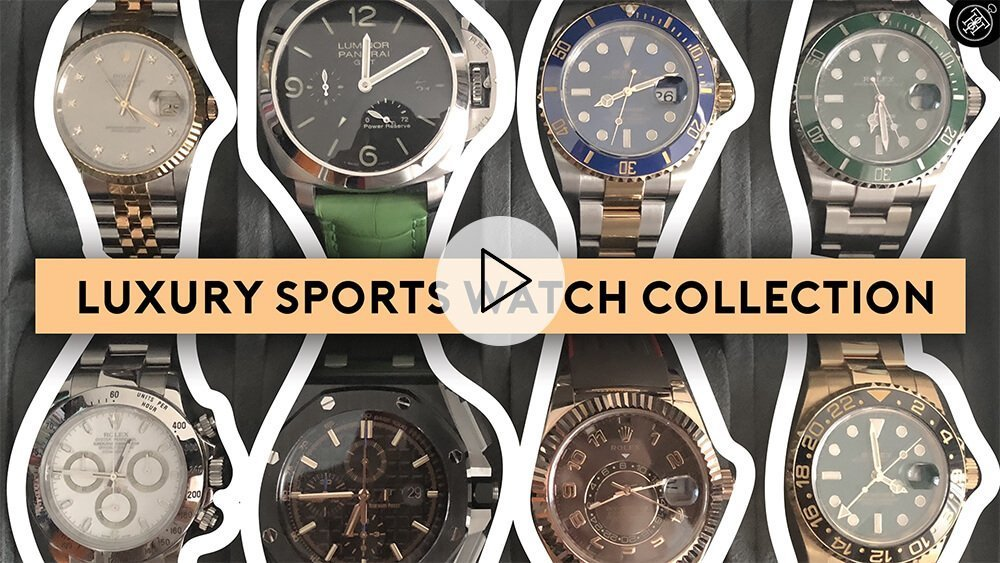 Luxury Sports Watch Collection Review: Rolex, Audemars Piguet, Panerai