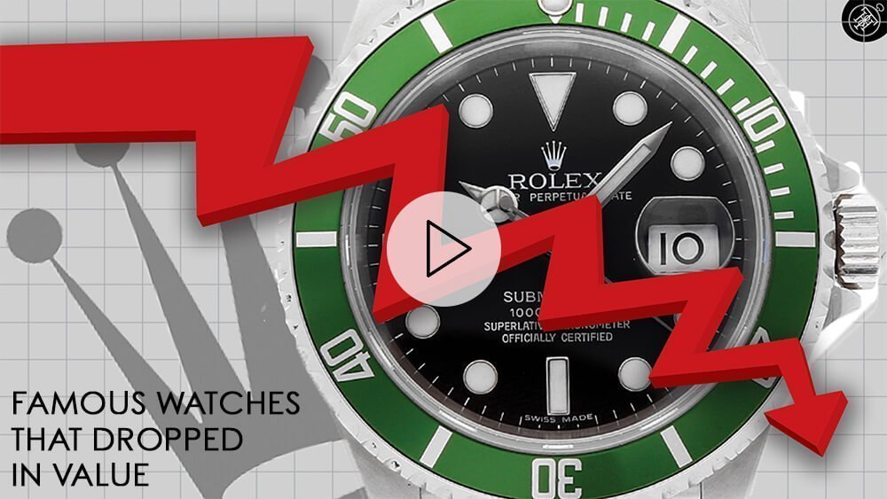 Famous Watches That DROPPED in Value: Rolex Kermit, Patek Philippe 5130, Heuer Autavia