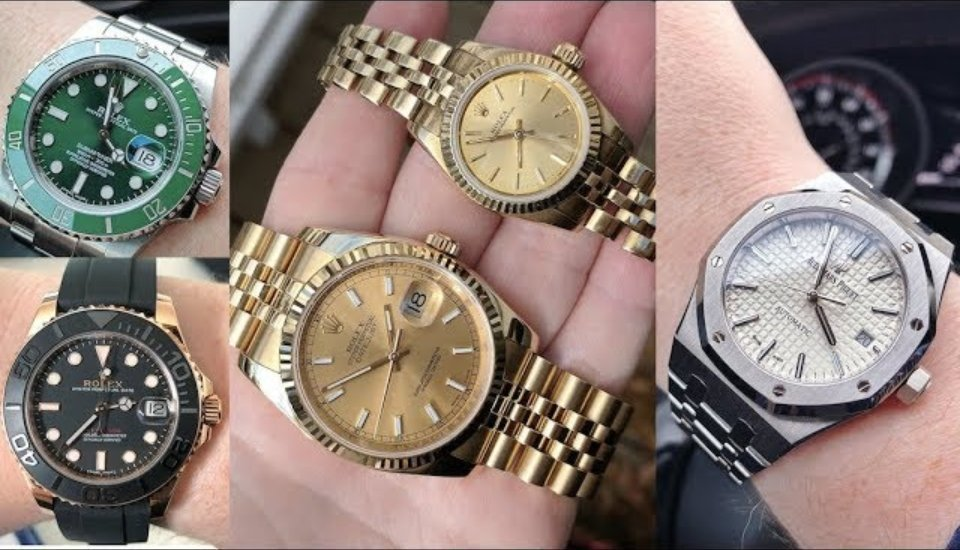 Collection Review: The Gold Rolexes of a Female Collector