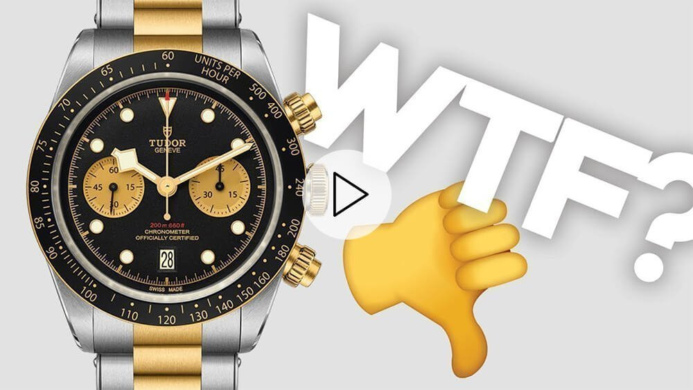 Tudor Messed Up Their 2019 Releases: Black Bay Baselworld