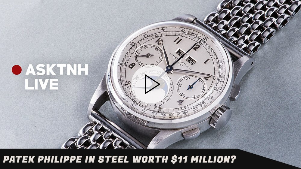Vintage Patek Philippe Steel Worth $11 Million?