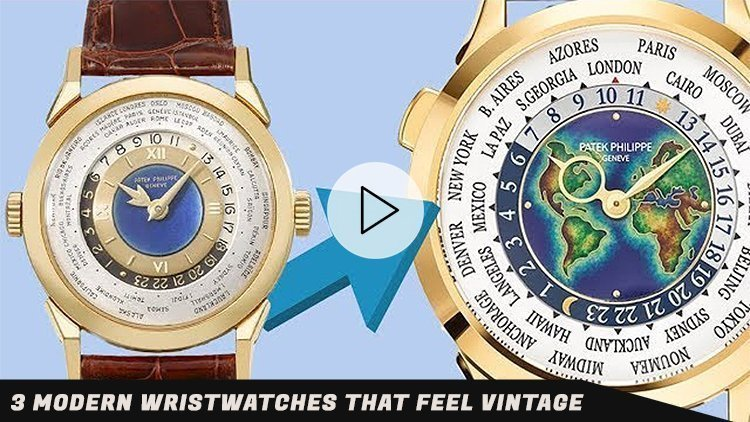 3 Modern Wristwatches that FEEL Vintage: Grand Seiko, Marnaut, Patek Philippe