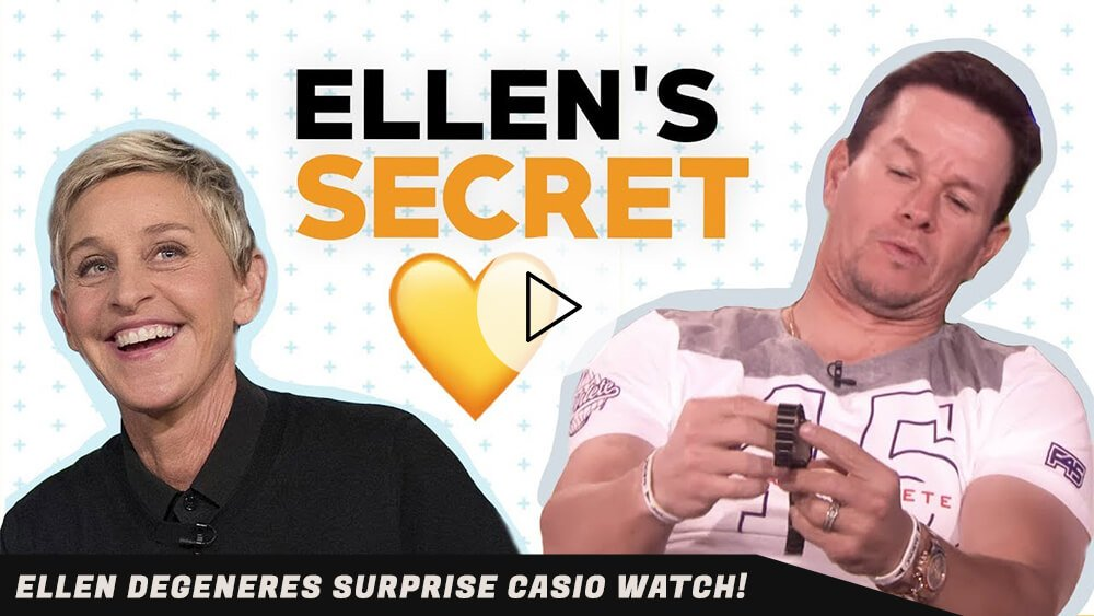Ellen Degeneres SURPRISE Casio Watch!