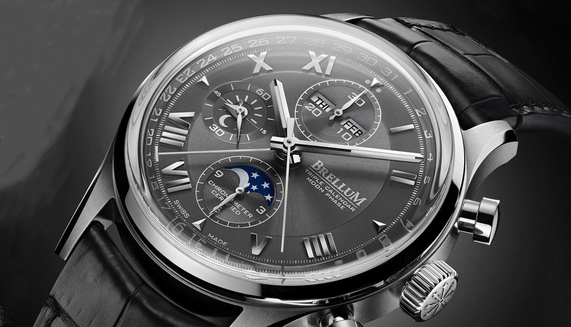From The Press: The Value-Packed COSC-Certified Triple Calendar Moonphase Chronograph You've Never Heard Of
