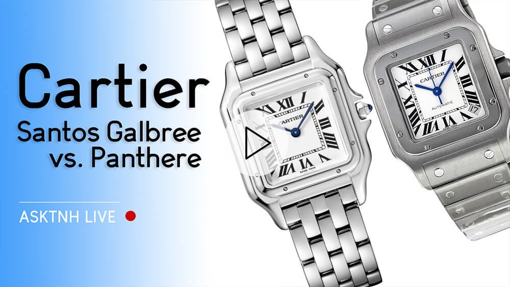 Cartier Santos Galbee vs. Panthere