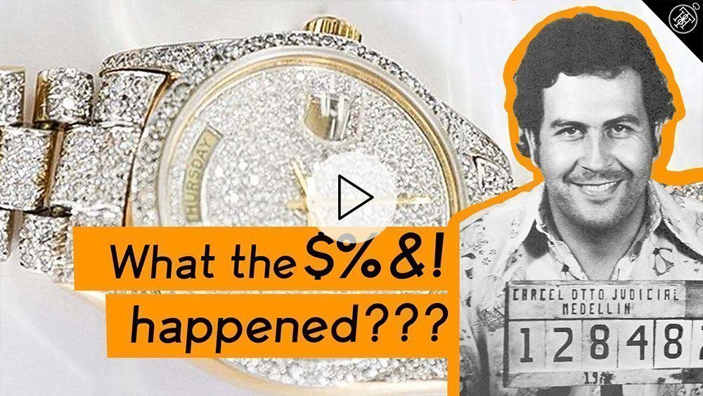 Pablo Escobar's Rolex Watch: The BIZZARE story