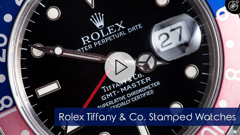 Rolex Tiffany & Co. Stamped Watches