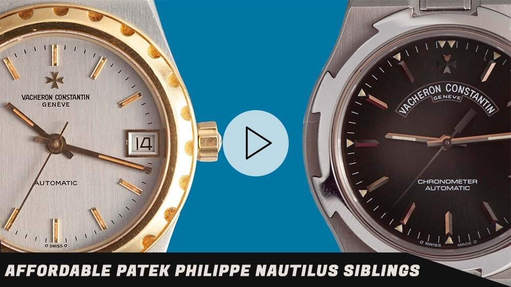 Affordable Patek Philippe Nautilus Alternative: Vacheron Constantin Overseas