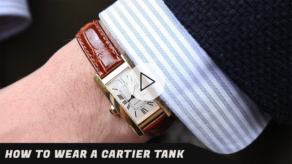 How To Wear A Cartier Tank