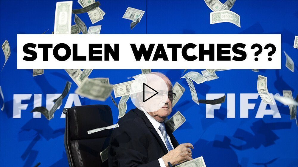 Blatter Accuses FIFA of Stealing Watches