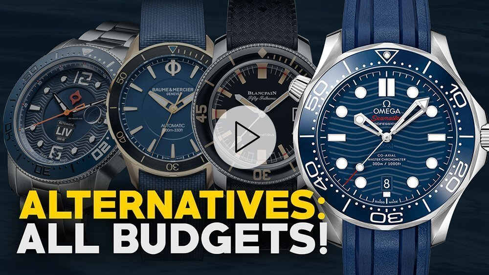 Awesome Alternatives! Omega Seamaster Diver 300m