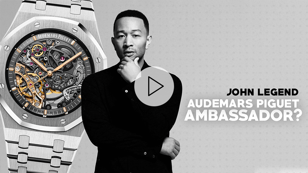 John Legend's Audemars Piguet Watch Collection