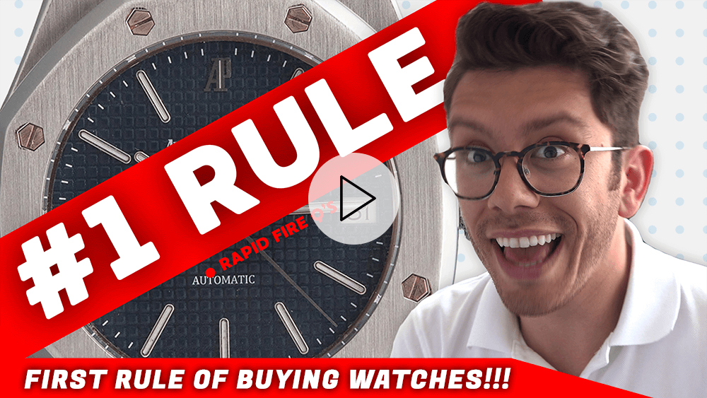 FIRST RULE of Buying Watches