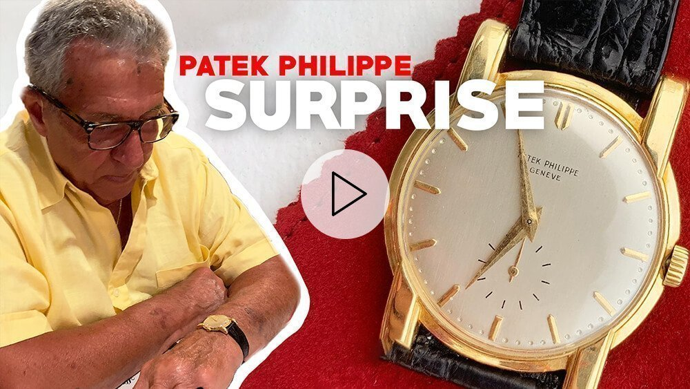 Surprising my Grandfather With A Vintage Patek Philippe Calatrava