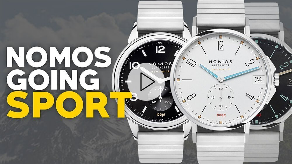 Nomos Is Changing… New Tangente + Club Watches w/ London Jewelers