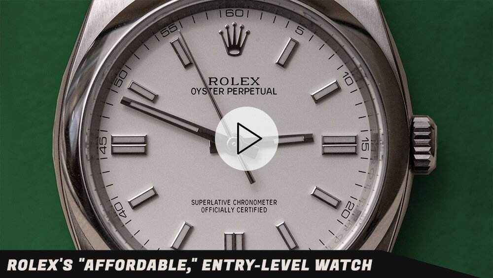 """Rolex's """"Affordable,"""" Entry-Level Watch…Oyster Perpetuals w/ London Jewelers"""