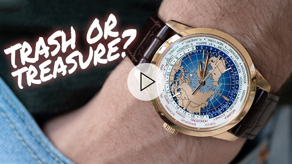 "Jaeger LeCoultre Geophysic Universal Time In ""Pink"" Gold"