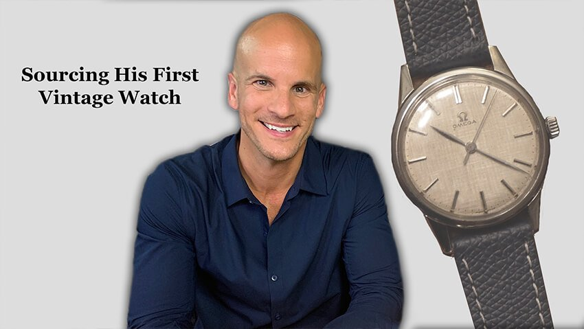 From Apple Watch To Vintage Omega: We Sourced His First Watch