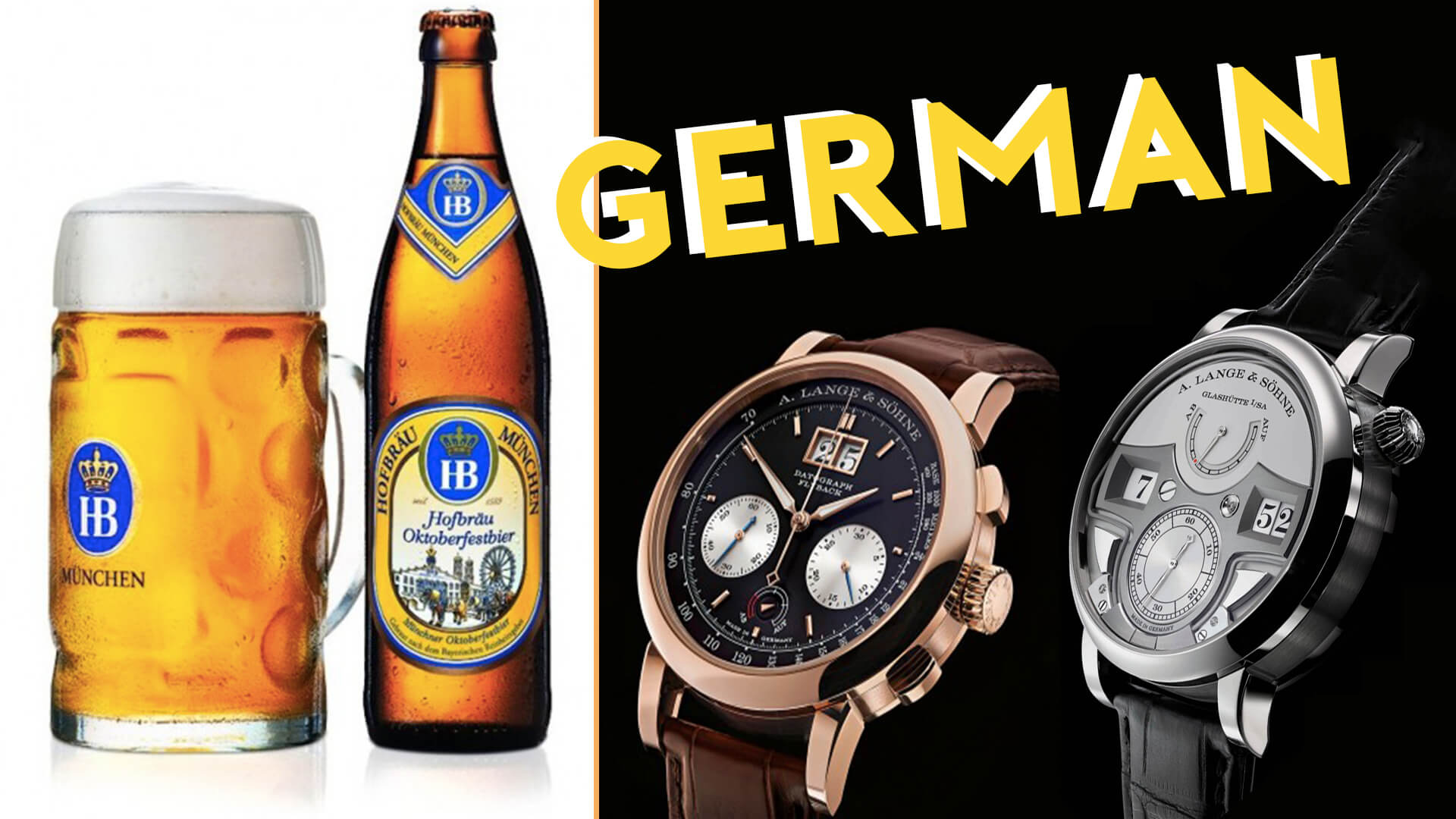 Liquor Run: Why GERMAN Watches Are GREAT