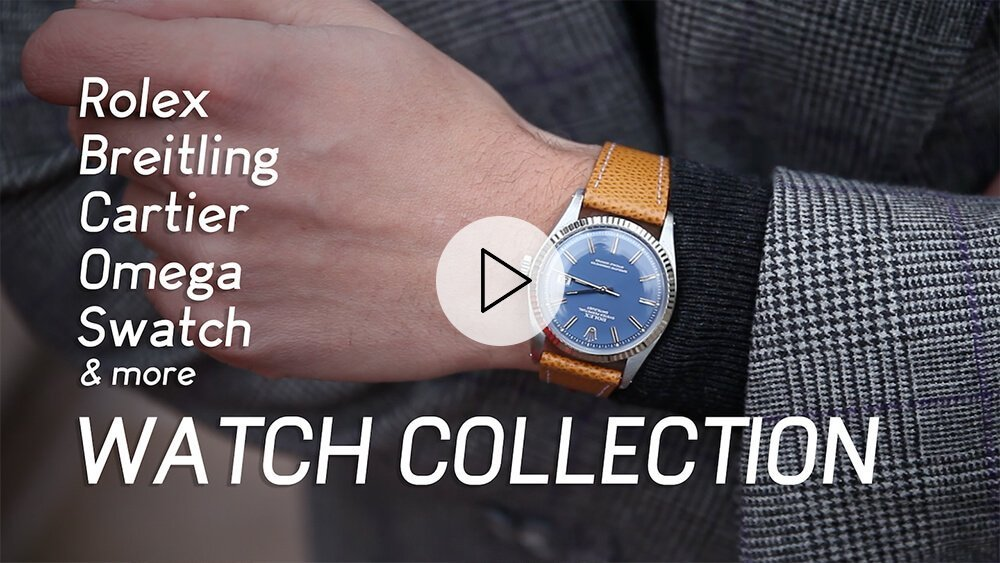My Rolex, Cartier, and Breitling Watch Collection