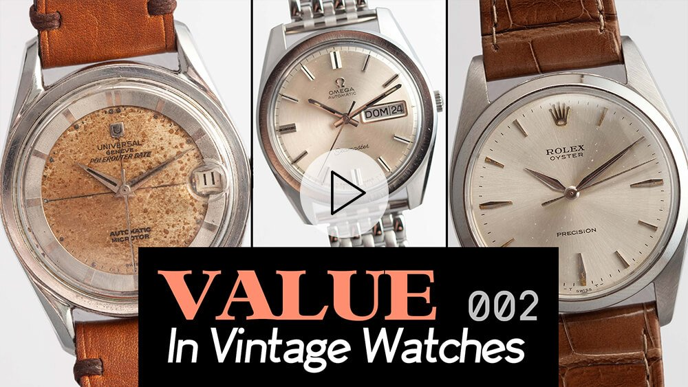 Value In Vintage Watches: Rolex Oyster Perpetual, Omega Day-Date & More