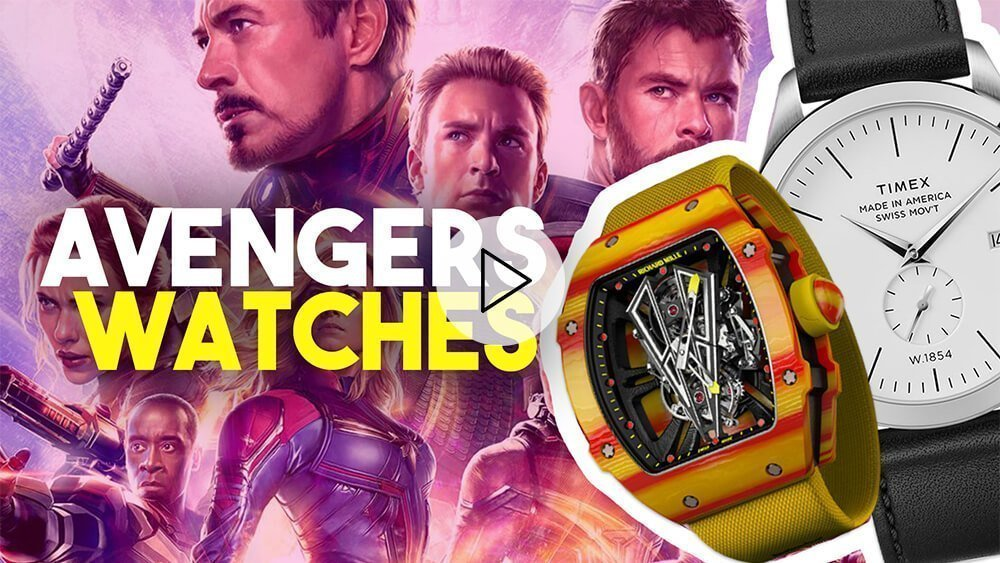 Wristwatches of AVENGERS: Endgame