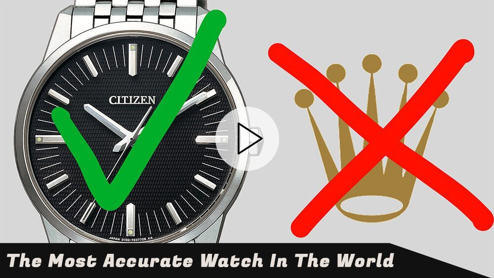 The $17,000 Citizen 0100 EcoDrive: Most Accurate in the WORLD